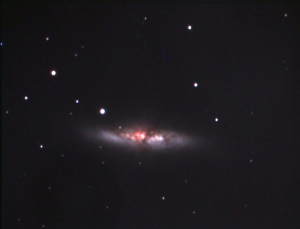 Messier 82 The Cigar Galaxy